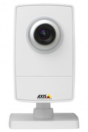 Беспроводные камеры AXIS M1004-W, запись видео производится на NAS-сервер