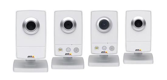 Беспроводные сетевые камеры AXIS
